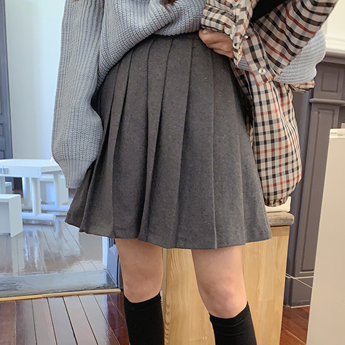 홀리디 skirt (2color)