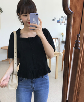 로코코 blouse (2color)